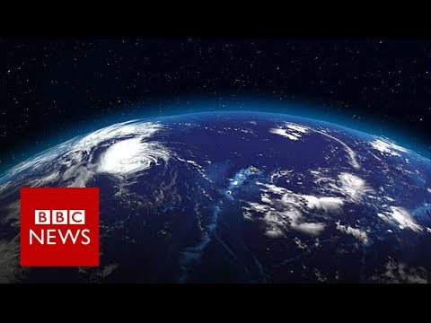 Flat Earth? One man's rocket mission - BBC News