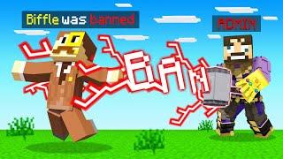 CRAFTING a *BAN HAMMER* in Minecraft (Insane Craft)