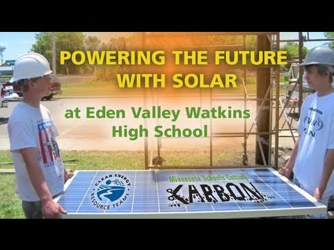 Powering the Future with Solar at Eden Valley Watkins High School