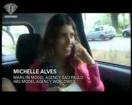 fashiontv   FTV.com - MODELS TALK - MICHELLE ALVES - ONE DAY IN SAO PAULO WITH...
