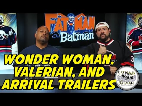 WONDER WOMAN, VALERIAN, AND ARRIVAL TRAILERS