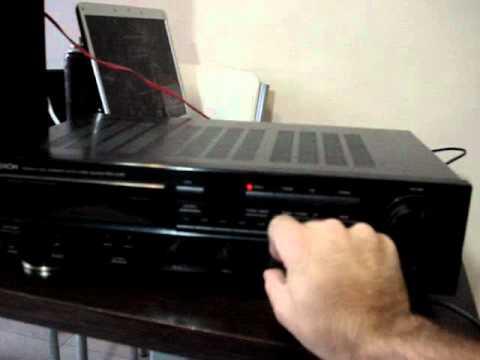 denon dra 345r youtube rh youtube com Clip Art User Guide Online User Guide