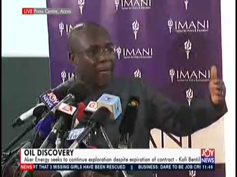 Imani Africa Calls For Review Of Aker Energy deal With Ghana - Joy News (25-4-19)