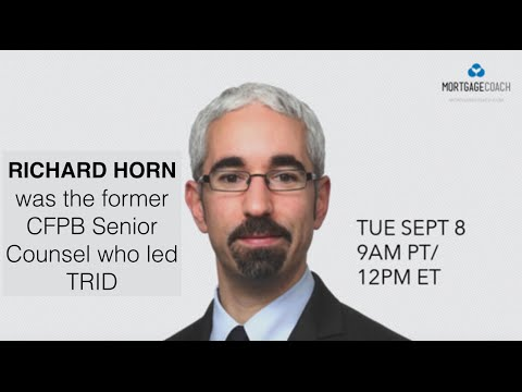 Interview with Richard Horn on TRID Preparation