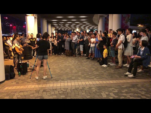 ????-Beyond (Cover by ????)(??)@ ?????Busking 2018/06/14