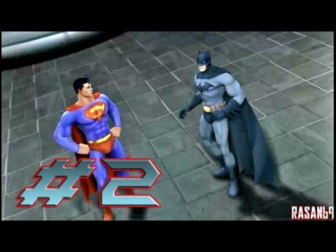 Justice League Heroes (PSP) walkthrough part 2 - YouTube