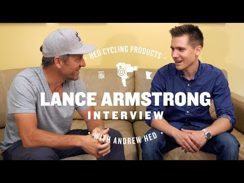 Lance Armstrong at Hed Cycling Products | Interview 2017