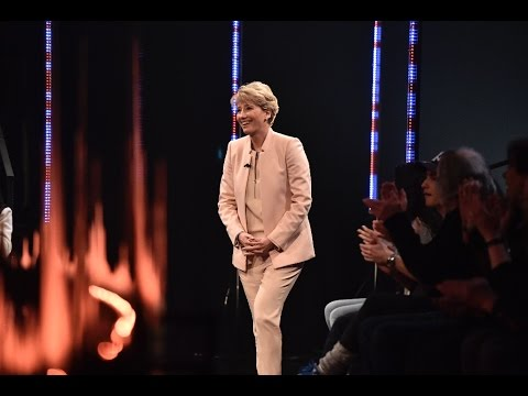 with Emma Thompson  Skavlan
