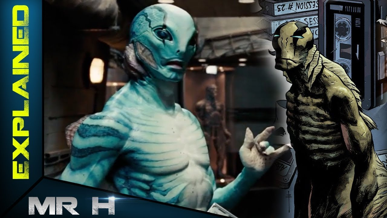 Abe Sapien S Origin Explored Hellboy 2019 Youtube