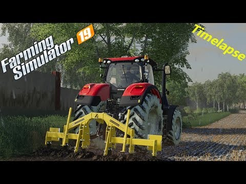 Farming Simulator 19 / The Old Farm Country Side #07 / Fieldwork with a cultiplough!