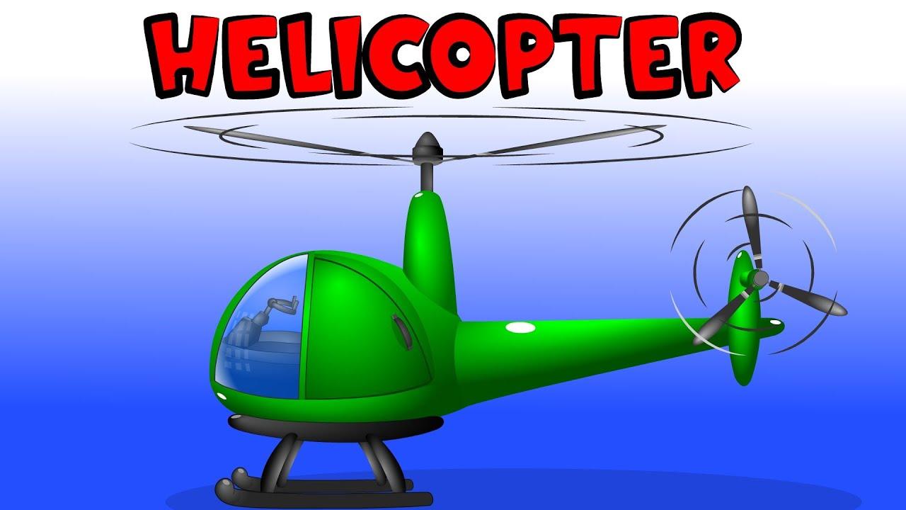 Helikopter Mobil Kartun Mainan Games Untuk Anak Anak