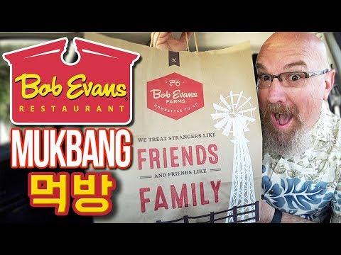 Bob Evan's Mukbang/Food Review Breakfast | MUKBANG 먹방 Eating Show