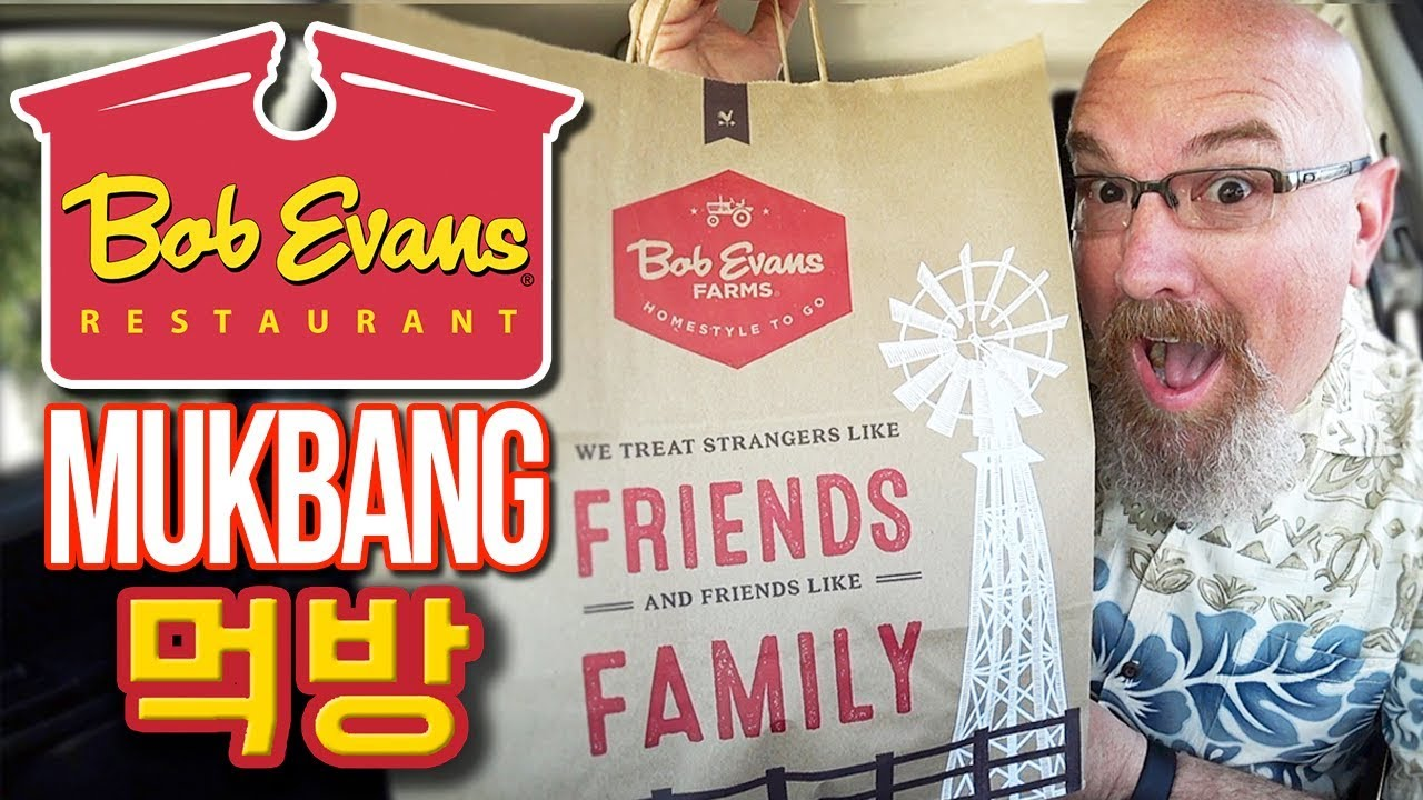 Bob Evan's Mukbang/Food Review Breakfast | MUKBANG 먹방 Eating Show