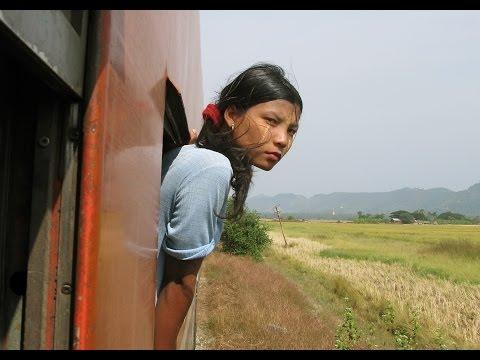 Myanmar (Burma) Circular train Yangon 2008