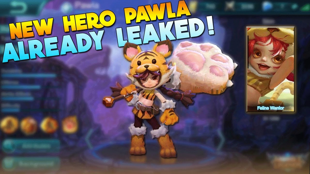 Mobile Legends: Upcoming Support Hero, Pawla, Leaks : Games : iTech Post