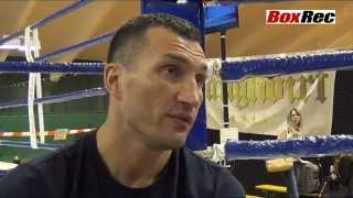 Wladimir Klitschko v Alex Leapai Media Day, Austria, 8th April 2014
