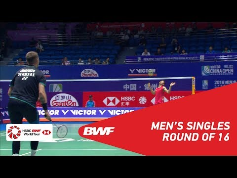 R16 | MS | CHEN Long (CHN) [6] vs Jan O JORGENSEN (DEN) | BWF2018