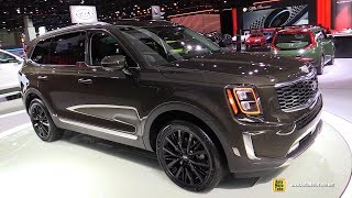 2020 KIA Telluride AWD - Exterior and Interior Walkaround - Debut at Detroit Auto Show 2019