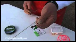 How to tie an Adjustable Two Hook Rig with Geoff Wilson
