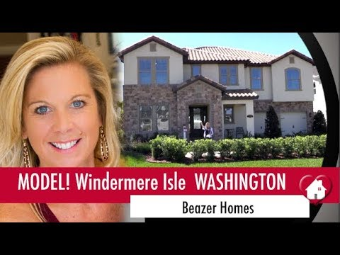 New Homes Winter Garden Horizon West Washington Model at Windermere Isle by Beazer