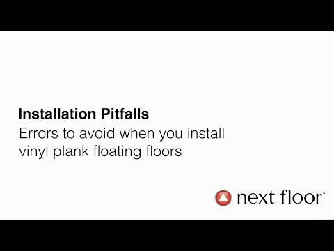 Vinyl Plank Flooring Installation Pitfalls