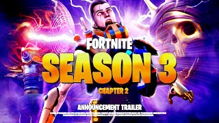 *NEW* FORTNITE SEASON 3 CINEMATIC TEASER TRAILER! ALL DETAILS & LEAKS!: BR