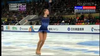 Repeat youtube video Юлия Липницкая.  Олимпиада Сочи 2014  1 место