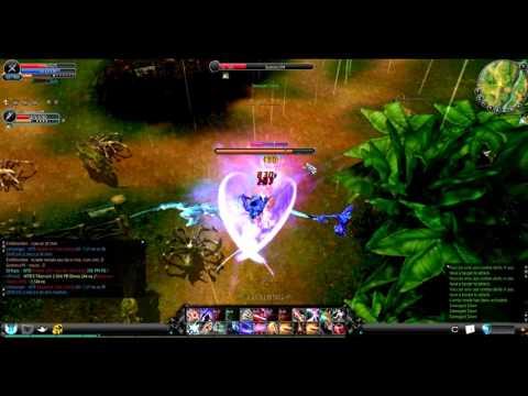 Cabal Online Blader PvP Against Guild Master Samorez