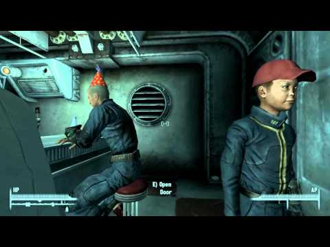 TFG Skaterz - Fallout 3 let's play - part 1 - Escaping the Vault