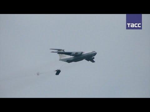 Учения ВДВ в Крыму: десантирование из Ил-76, высадка морского десанта