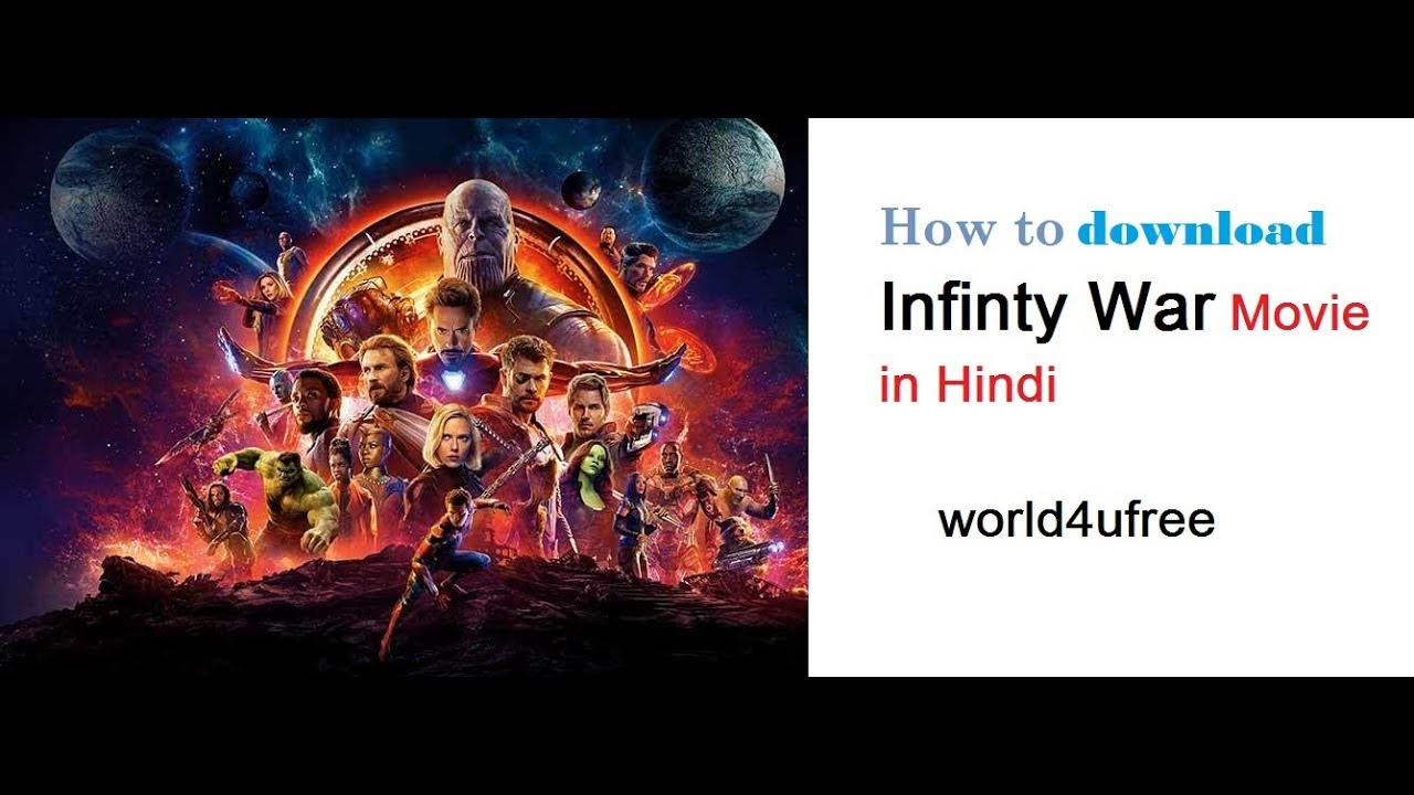 How To Download Avengers Infinity War Movie In Hindi For Free (100% working and free)