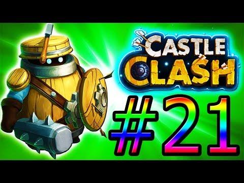 Castle Clash F2P Episode 21!!!