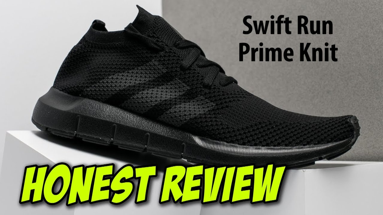 7ed90fcf3 Adidas Swift Run PrimeKnit Sneakers Review - YouTube