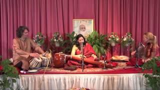 MERU Concert - Durga Bhajan, Devi Bhajo Durga in Raga Durga by Meeta Pandit