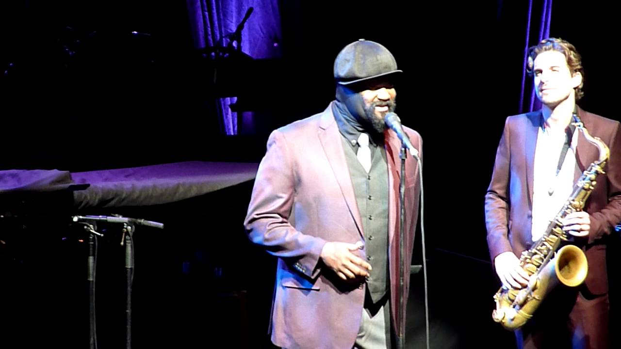 "Gregory Porter ""Water Under Bridges"" @ Olympia (Paris)"
