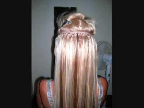 Hair Extensions? Loop Micro Link Hair Extensions. Quick Hair - YouTube
