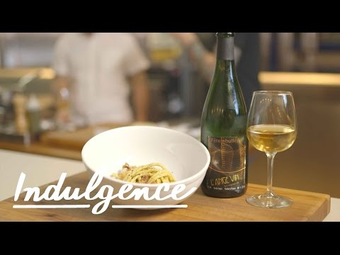Cooking Carbonara with Carlo Mirarchi and Pairing It with a Funky Natural Wine