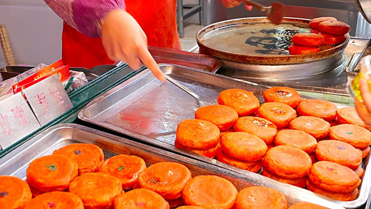 Xian street food china persimmon donuts youtube forumfinder Images