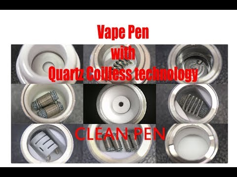 Vape Pen with Quartz Coilless technology| Clean Pen