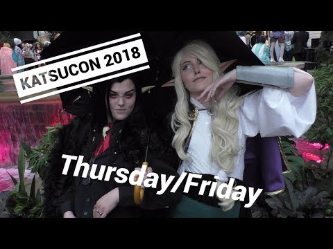 Katsucon Vlog 2018 (Thurs-Fri)