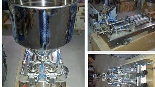 Peanut Butter Filler,tomato Filling Device,chili Sauce Filling Machine,machine De Remplissage