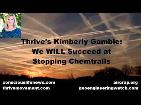 """We WILL Succeed at Stopping Chemtrails """"Thrive"""" By  Kimberly Gamble"""