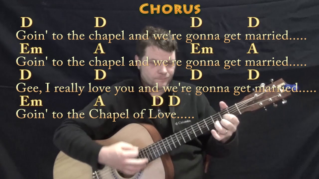 Chapel Of Love The Dixie Cups Guitar Lesson Chord Chart With