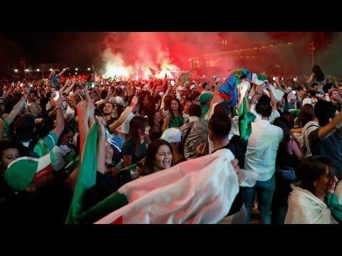 Algeria AFCON title sparks street parties across France