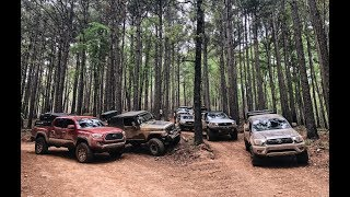 2019 Bonfire Rendezvous Overland Trip Pt. 3 – Group Trail Run and Camping in the Ozarks