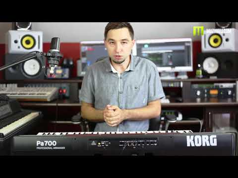 KORG PA 700 Full Review