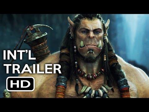 Warcraft  International Trailer #1 2016 Action Fantasy Movie HD