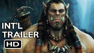 Warcraft Official International Trailer #1 (2016) Action Fantasy Movie HD