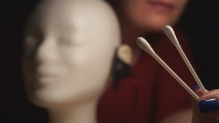 Binaural ASMR. Ear Cleaning (Intense Mic Touching) - Extended Version -