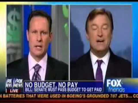 Dean Heller on Fox and Friends -- No Budget No Pay